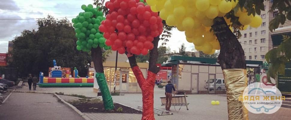 Декор деревьев
