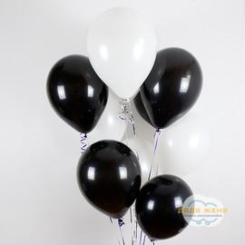 Черный- белый
