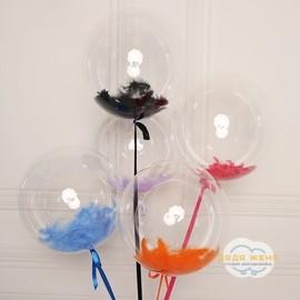 Шар Bubbles с пером