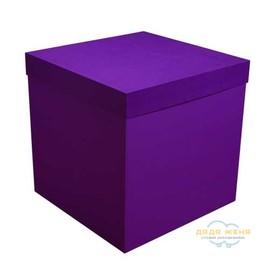 Коробка сюрприз фиолетовая