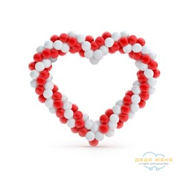 Плетеное сердце (2 цвета)