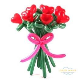 Букет цветов Сердечный