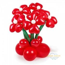 Букет цветов Алый