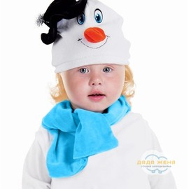 """Набор """"Снеговик в черной шляпке"""""""