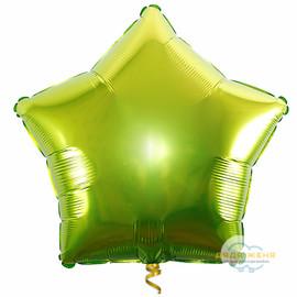 Звезда Светло Зелёная