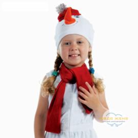 """Набор """"Снеговик в красной шапке"""""""