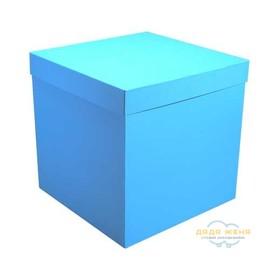 Коробка сюрприз нежно голубая