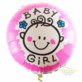"""Милар круг """"Baby Girl"""""""