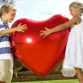 Сердце большое Красное