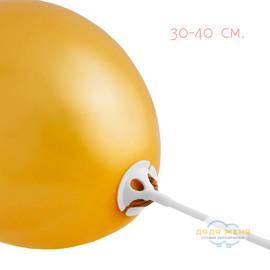Надуть свой шарик воздухом на палочке (палочка компании)
