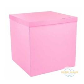 Коробка сюрприз нежно розовая