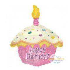 Милар- кекс Happy Birthday