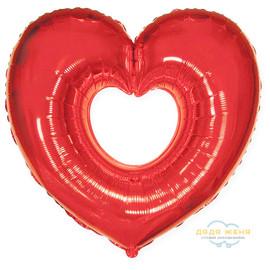 Сердце Вырубка (красное)