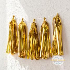 Тассел гирлянда Золото