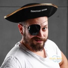 """Шляпа пирата """"Пиратская братва"""""""