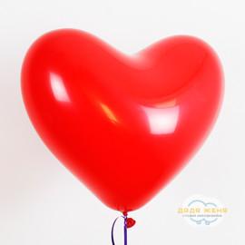 Сердце Красное 30см