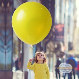 Надуть гелием шарик 90 см (с обработкой)