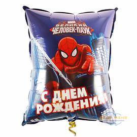 Милар Подушка С днём Рожения (человек паук)